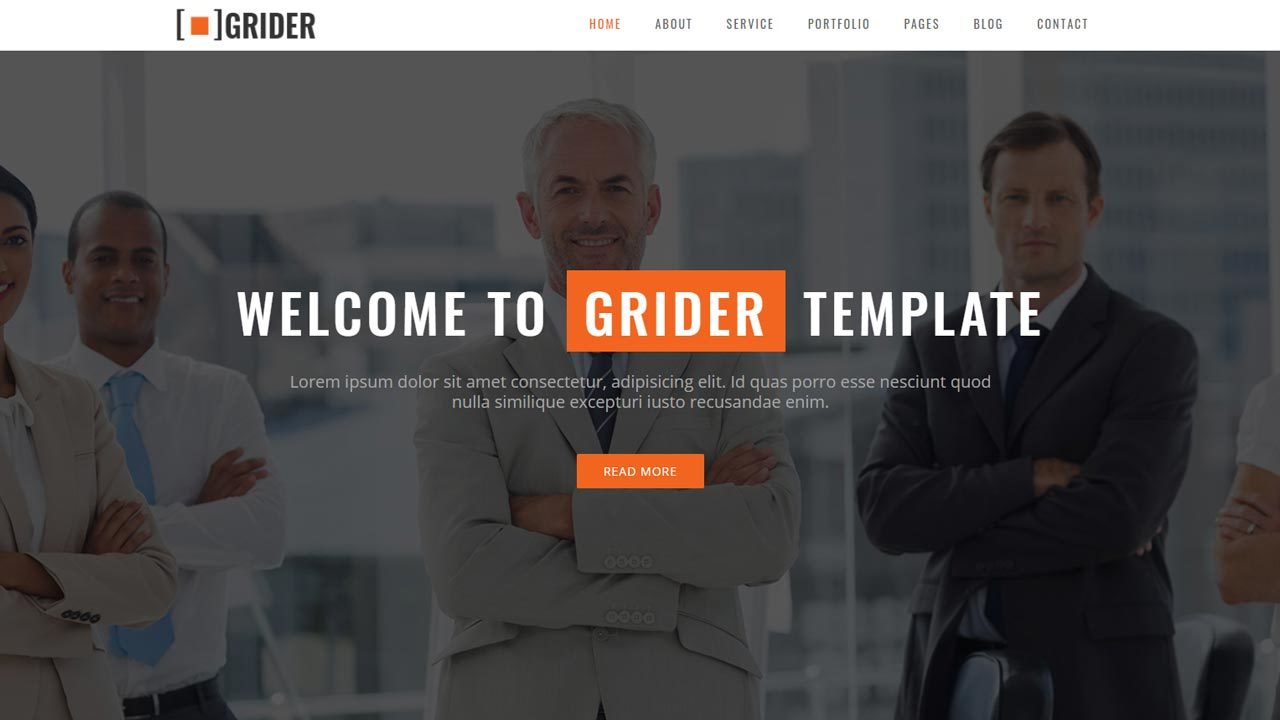 Free HTML5 Bootstrap Website Template