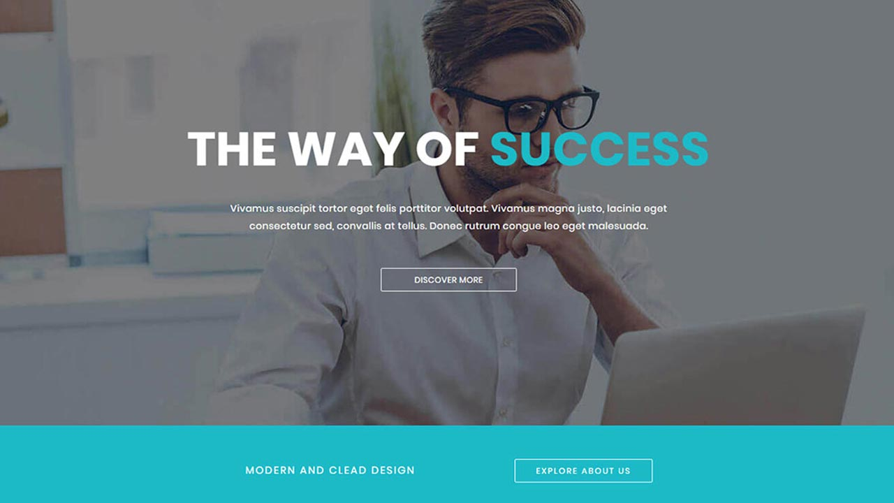 free onepage bootstrap website template