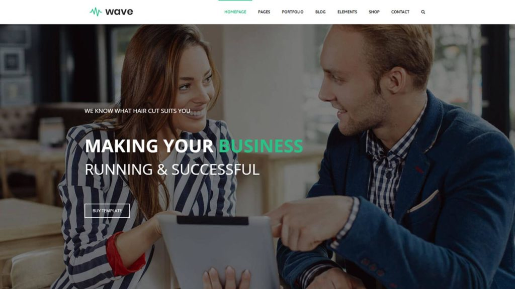 free business bootstrap website template