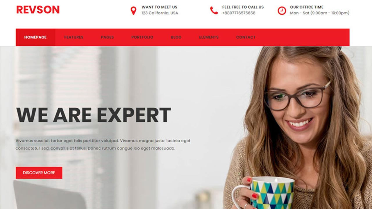 Free multipurpose business html5 bootstrap website template